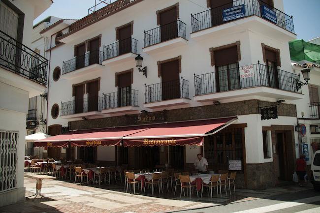Strand Andalusie Tapas Spanje Spanje volgens Anne van Dos