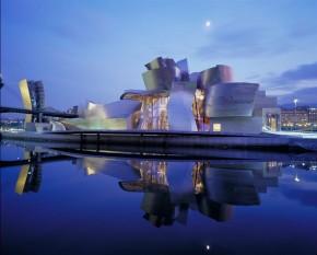 Bilbao met het Guggenheimmuseum